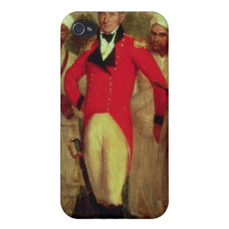 Colonel Colin Mackenzie and his Indian pandits iPhone 4 Cases