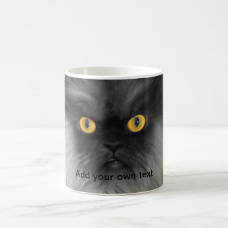 Colonel Meow Yellow Eyes Coffee Mugs