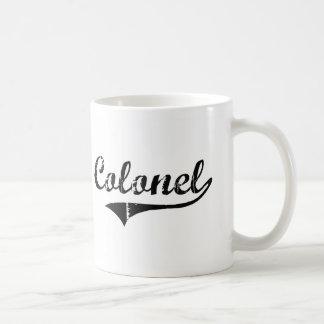Colonel Professional Job Tasse À Café