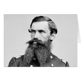 Colonel Strother, 3rd WV Cavalry, 1860s Greeting Card