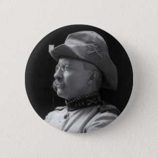 Colonel Theodore Roosevelt from 1898 2 Inch Round Button