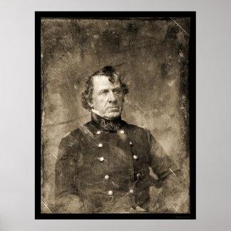 Colonel William Gates Daguerreotype 1847 Poster