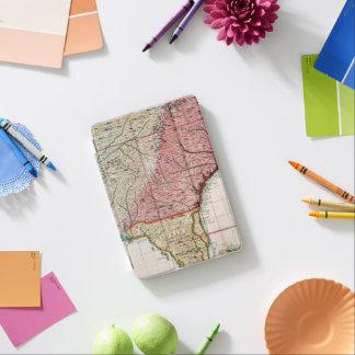 COLONIAL AMERICA MAP, 1733 iPad MINI COVER