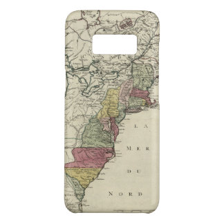 Colonial America Map by Matthaus Lotter (1776) Case-Mate Samsung Galaxy S8 Case