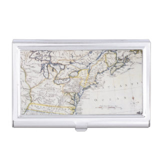 COLONIAL AMERICA: MAP, c1770 Business Card Holders