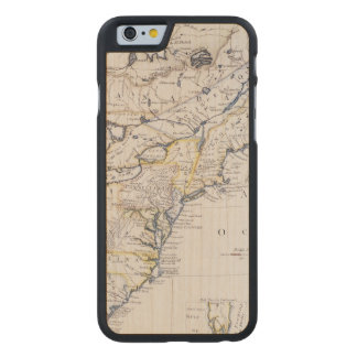 COLONIAL AMERICA: MAP, c1770 Carved® Maple iPhone 6 Case