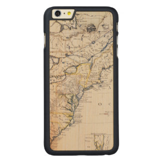 COLONIAL AMERICA: MAP, c1770 Carved® Maple iPhone 6 Plus Case