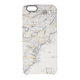 COLONIAL AMERICA: MAP, c1770 Clear iPhone 6/6S Case