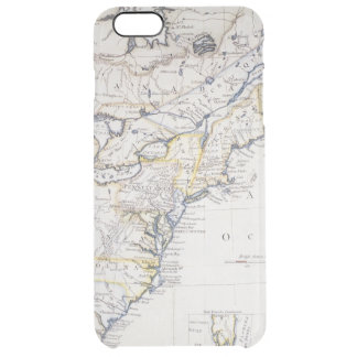 COLONIAL AMERICA: MAP, c1770 Clear iPhone 6 Plus Case