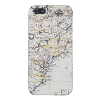 COLONIAL AMERICA: MAP, c1770 iPhone 5 Covers