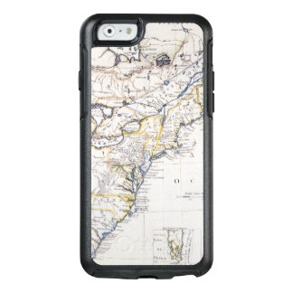 COLONIAL AMERICA: MAP, c1770 OtterBox iPhone 6/6s Case