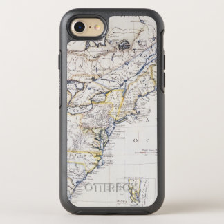 COLONIAL AMERICA: MAP, c1770 OtterBox Symmetry iPhone 8/7 Case