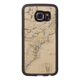 COLONIAL AMERICA: MAP, c1770 Wood Phone Case