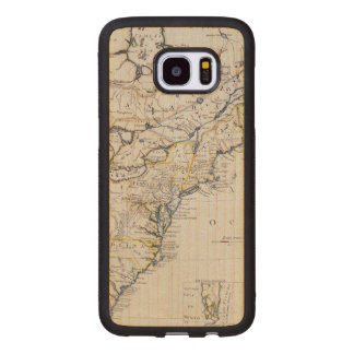 COLONIAL AMERICA: MAP, c1770 Wood Samsung Galaxy S7 Edge Case