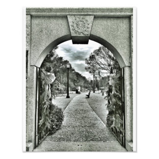 Colonial Cemetery Gate, Savannah Photo Art