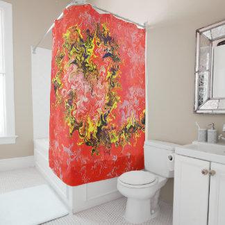 Colonial Heart 71x71 Shower Curtain