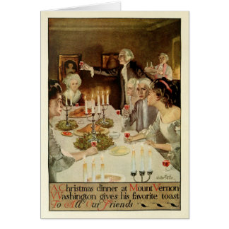 Colonial Holidays by Walter Tittle Card