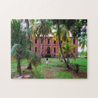 Colonial House Guyana. Jigsaw Puzzle