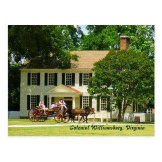 Colonial Williamsburg, Virginia Postcard