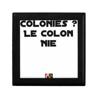 COLONIES, the COLONIST DENIES - Word games Gift Box