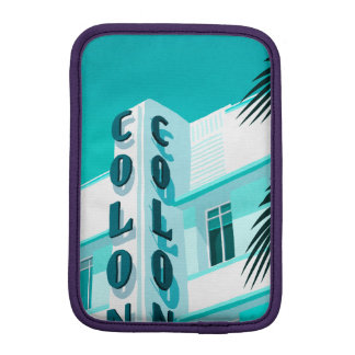 Colony Hotel Miami iPad Mini Sleeve