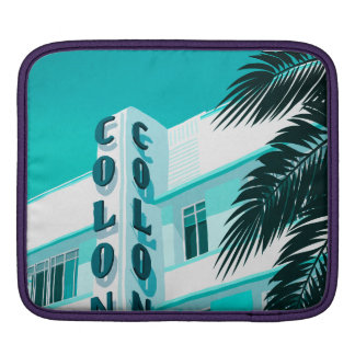 Colony Hotel Miami iPad Sleeve