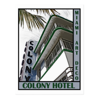 Colony Hotel Postcard