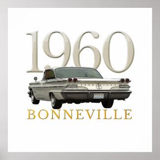 Color '60 Pontiac coupe poster