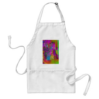color abstract (35) standard apron