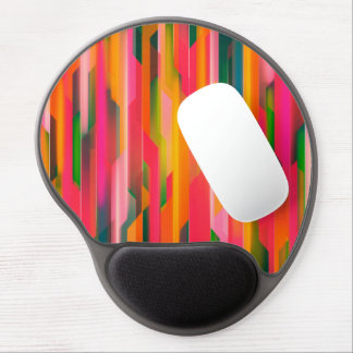 Color Abstract Background Gel Mouse Pad