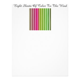 Color Abstract by Design to Customize Letterhead