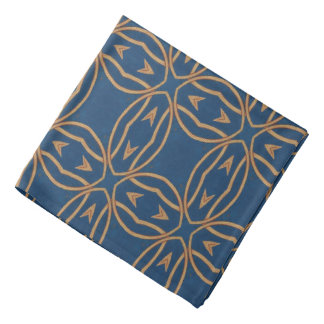 Color Abstract Pattern Blue Wallpaper Design Bandana