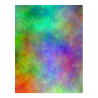 Color Abstract Postcard