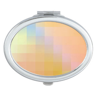 Color Abstraction Compact Mirror
