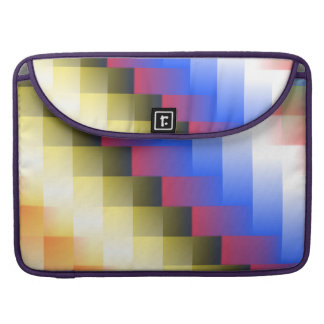 Color Abstraction Sleeve For MacBooks