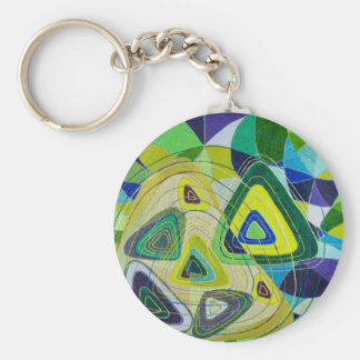 Color art keychain