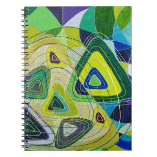 Color art notebooks