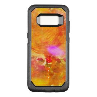 color art seamless background yellow, orange OtterBox commuter samsung galaxy s8 case