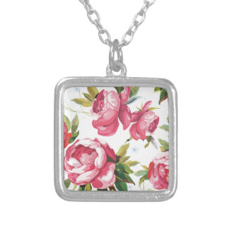 color_background_surface_patterns silver plated necklace