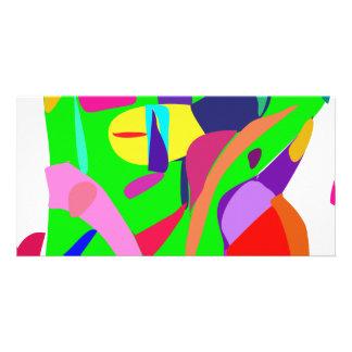 Color Balance Custom Photo Card