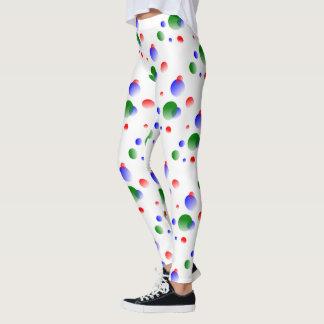 color balls leggings