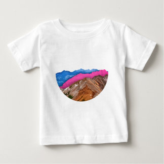 Color Band Mountains Baby T-Shirt
