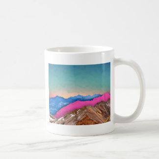 Color Band Mountains Coffee Mug