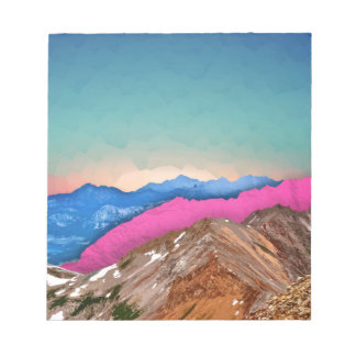 Color Band Mountains Notepads