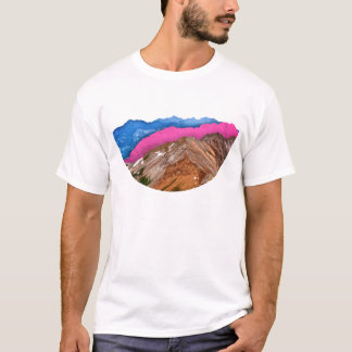 Color Band Mountains T-Shirt