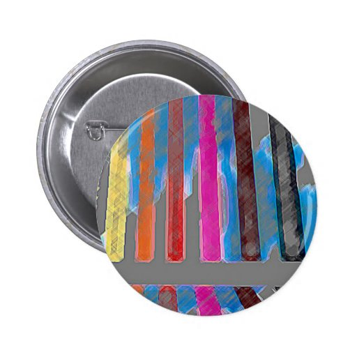 Color Band Rainbow Waterfall CricketDiane Button