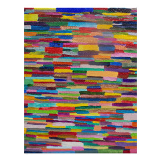 Color Bars Art Custom Letterhead