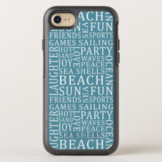 Color Beach House phone OtterBox Symmetry iPhone 7 Case