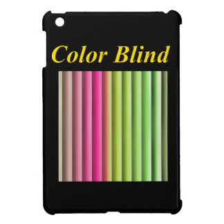 Color Blind Cover For The iPad Mini