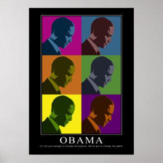 """""""Color Blind"""" Obama Poster"""